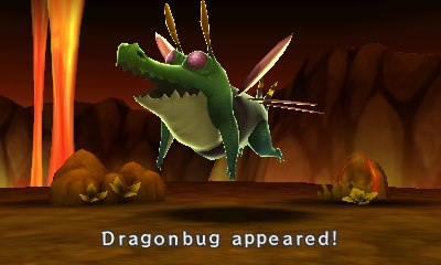 Dragonbug appeared! What to do now?