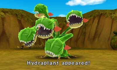 In today's monster special the Hydraplant!