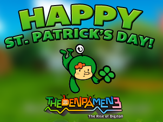 Happy St. Patty's Day from the Denpa Men!