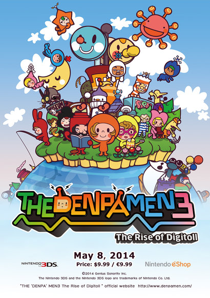 Denpa Men 3: The Rise of the Digitoll Released!